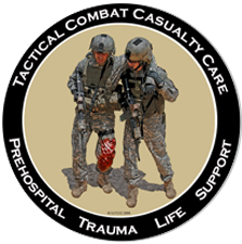 Tactical combat casualty care logo